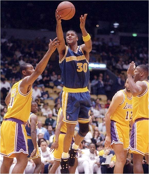 d50510e8cf2 The Warriors sent Mitch Richmond who had been durable and dependable to the Sacramento  Kings for unproven rookie forward Billy Owens.